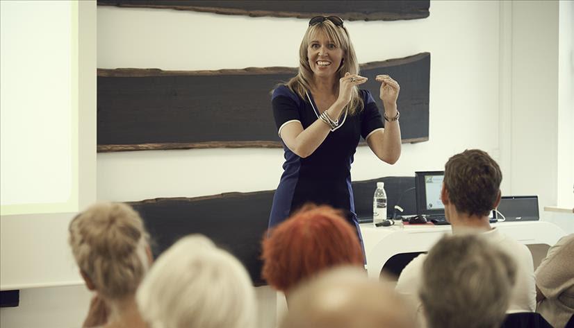 Foredragsholder Gitte Koldtoft underviser hos MBK Kurser