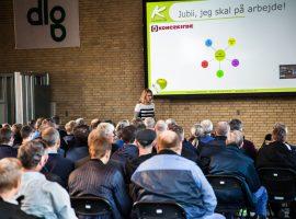 Gitte Koldtoft holder foredrag for dlg