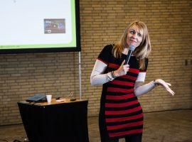 Foto af foredragsholder Gitte Koldtoft