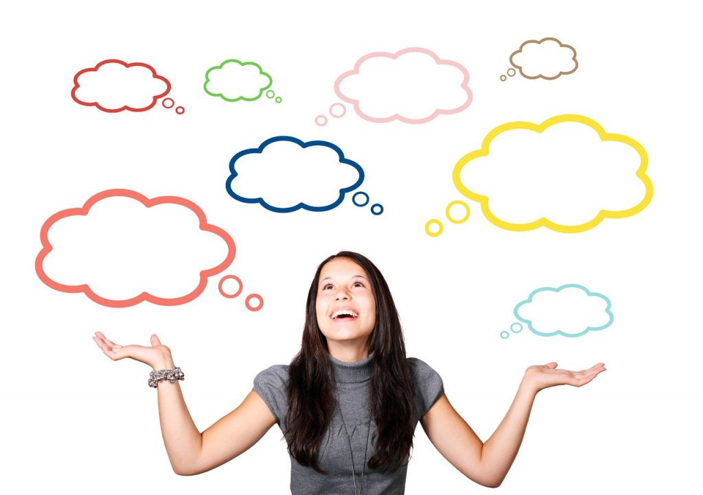 Det du gør udspringer af det du tænker