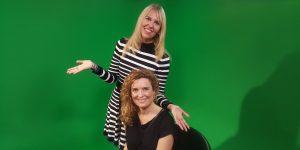 Camilla Kjems og Gitte Koldtoft i enerGitte TV