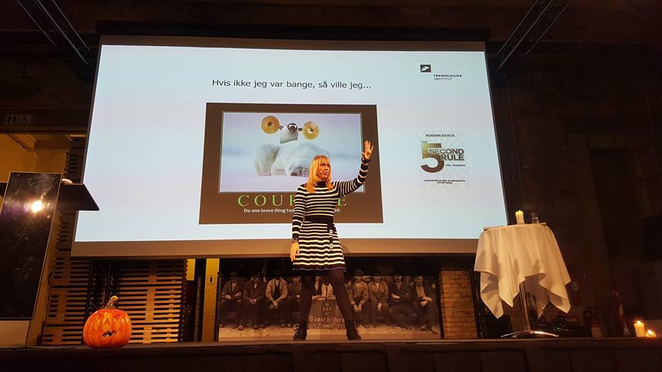 Gitte Koldtoft foredrag om selvtillid