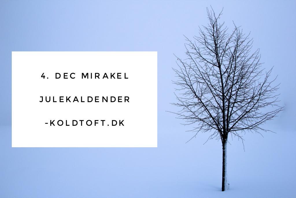 Et Kursus i Mirakler Julekalender låge nr 4
