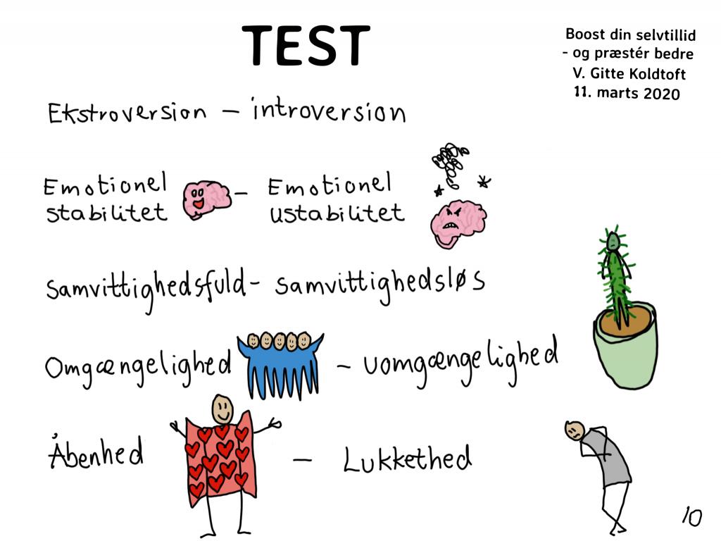 test personllighed