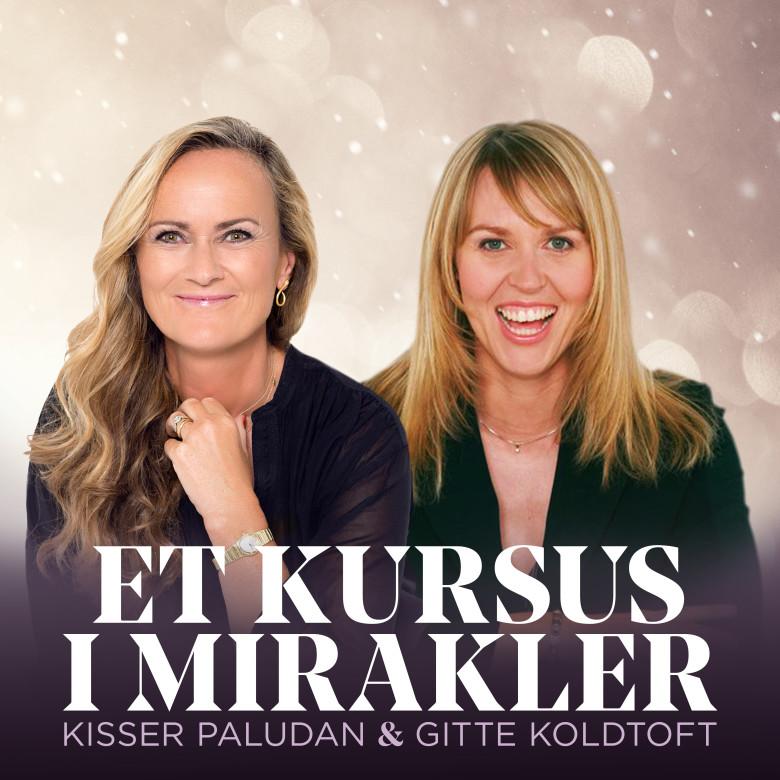 Kisser Paludan og Gitte Koldtofts favorit spiritalitet er klart bogen Et Kursus i Mirakler.